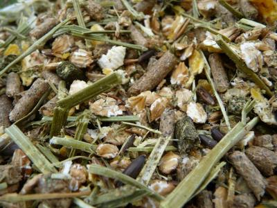 floconné fibres - alimentation cheval personnalisée